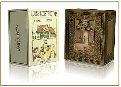 House Design Plan Construction 340 Rare Books on 2x DVD Architect Home Build D5