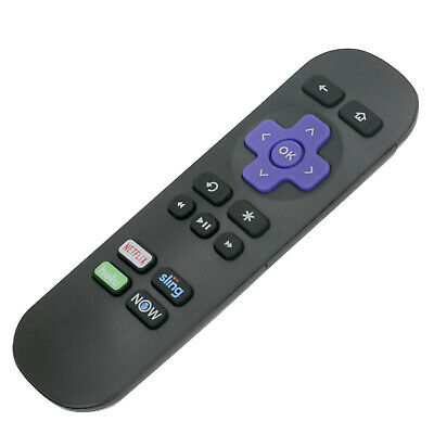 New Remote Control Replace for Roku 1 2 34 Streaming Player Netflix Hulu Now APP