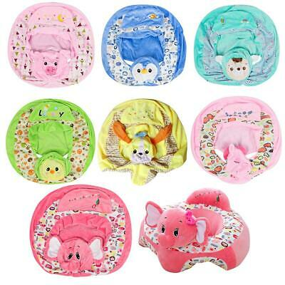 Baby Sofa Cover Floral Print Infant Safety Seat Support Learn To Sit Chair Case