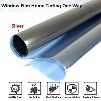 """Home Tinting Window Film Privacy For Residential Office Heat Control 60""""x60""""inch"""