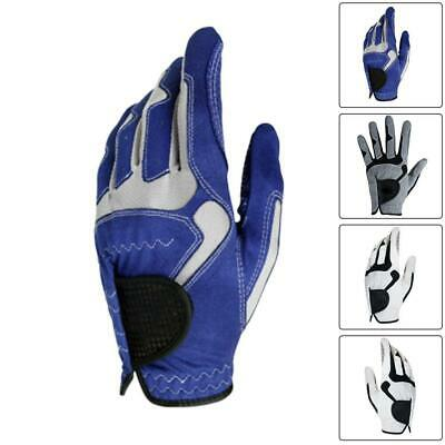 1X All Weather Men Golf Gloves Thumb and Palm Patch BEST