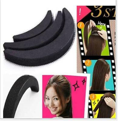 3.Different Sizes Women Volume Hair Base Bump Styling Insert Decoration ToolSC