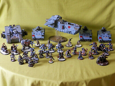 A2 Warhammer 40K Space Wolves Army - Many Units To Choose From