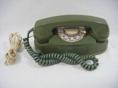 Vintage Green Bell System Rotary Telephone Princess Western Electric Phone S20