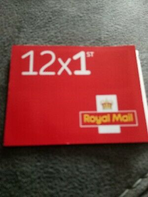 1st CLASS Stamps NEW x12 Royal Mail Postage Stamp First Class  Book UK FAST POST
