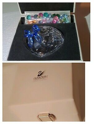 Swarovski Sweet Heart Trinket Box With A Bag Of Gems