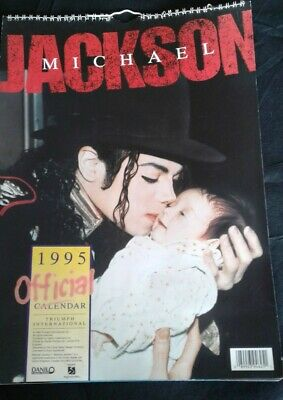 Michael jackson official 1995 calender