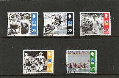Sg 1152-6 Isle Of Man Olympic Games Athens Very Fine Used Set