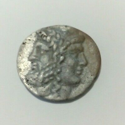 GREEK-MACEDONIA ANCIENT COIN TWO GOD ZEYS-ERA.SILVER 7.1 gr. 450BC.VERY RARE.