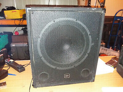 DB TECHNOLOGIES SUB 612 Active Powered 600W RMS 12