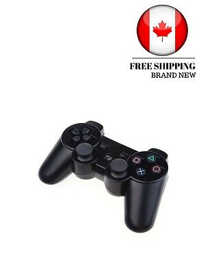 New Sony Ultra responsive PlayStation Dual shock 3 Controller Black USB game