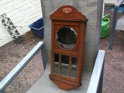 An Old Wall Clock Case ( Wooden Case Only)For Restoration