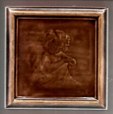 Antique Tile by George Cartlidge