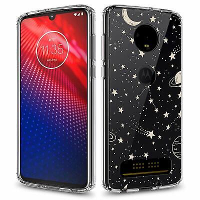 For Moto Z4 Z4 Play Z3 Z3 Play Case, Scratch Resistant Case + Screen Protector