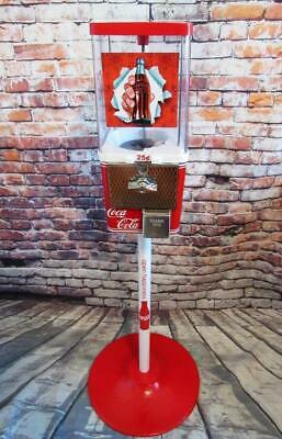 Coca cola gumball machine candy m&m bar man cave Christmas gift home decor bar