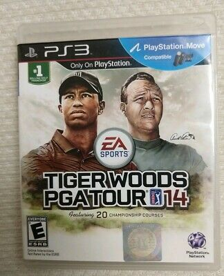 Tiger Woods PGA Tour 14 (Sony PlayStation 3 PS3, 2013) SHIPS FAST!