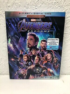 Avengers Endgame Blu Ray + Digital HD Beware of the fakes sold without Digital!!