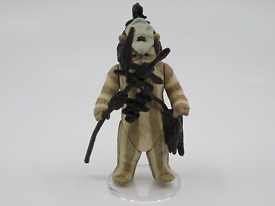 Vintage 1983 Kenner Star Wars Action Figure HK Logray NM+ Ewok ROTJ NR!!!!!!!!!!