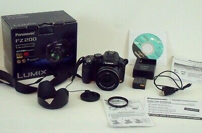 Panasonic Lumix FZ200 Super Zoom in Original Box