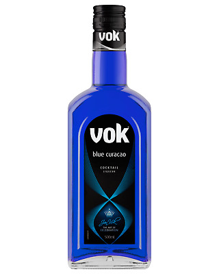 VOK BLUE CURACAO COCKTAIL LIQUEUR (500ml) 20%ALC/VOL
