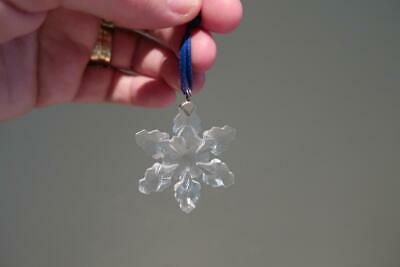 Swarovski Crystal Snowflake Ornament - Seasonal series - 2008 - Collectable - AF