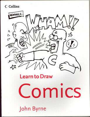 ART BOOK - LEARN TO DRAW COMICS By John Byrne