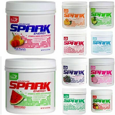 ADVOCARE SPARK CANISTER  Your choice of flavor