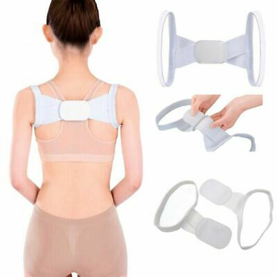 Portable Back Posture Correction Shoulder Belt Therapy Corrector Support Brace