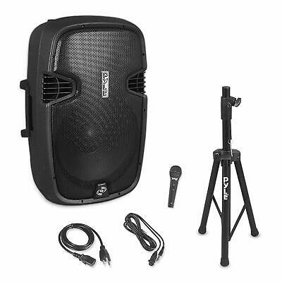 Pyle 15 Inch DJ Loudspeaker System With Bluetooth And Microphone