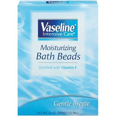 Vaseline Intensive Care Moisturizing Bath Beads Gentle Breeze 24oz Discontinued