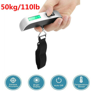 Digital Travel Scale for Suitcase luggage Weight 50KG 10G Hanging Scale BG