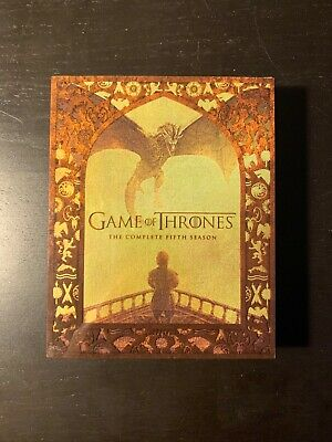 Game Of Thrones Complete Season 5 Blu-ray Pre-owned HBO