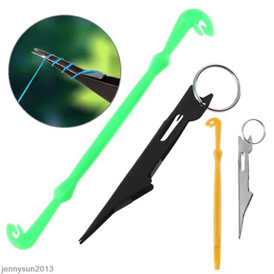 1Set Quick Nail Knot Tying Tool Loop Tyer Hook Outdoor Fly Fishing Equipments