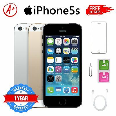 Apple iPhone 5S - 16GB/32GB - All Colours - UNLOCKED - Various Grades