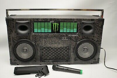 Bumpboxx Monster Energy Limited Edition Wireless Bluetooth Speaker Brand NEW!
