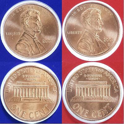 2006-D UNC LINCOLN MEMORIAL PENNY NICE COIN **MAKE AN OFFER**