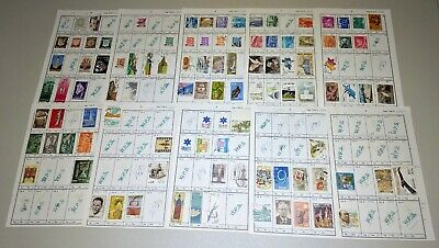 Stamp Pickers Israel Classic Stamps Album Collection Estate Lot #3 MH VFU