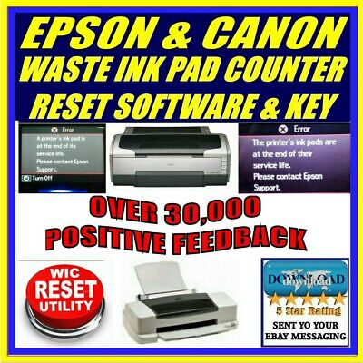 RESET EPSON L405 Reset ink pads counter100%, Epson L405