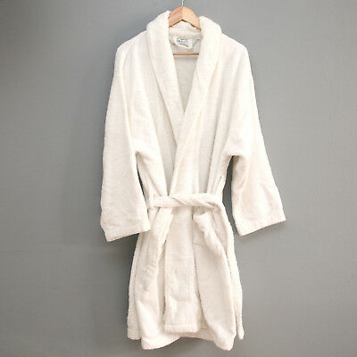 discount up to 60% sells more photos WAMSUTTA UNISEX TERRY Bathrobe in White - $14.99   PicClick