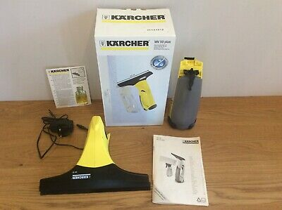KÄRCHER WV50 PLUS WINDOW VACUUM CLEANER & CHARGER Available Worldwide
