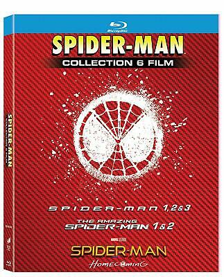 Spider-Man Legacy Boxset 6 Movies Collection  BLU RAY