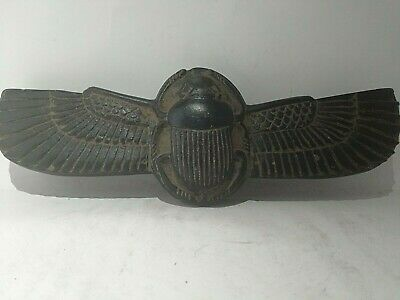 RARE ANCIENT EGYPTIAN ANTIQUE FLY SCARAB  Stone 1231-1110 BC