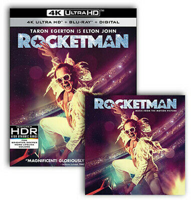 Rocketman Uhd/Lp Bundle (REGION A Blu-ray New) Dummypid
