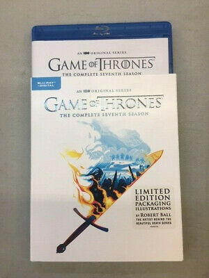 Game of Thrones: Complete Seventh Season (Blu-ray, 2018) with Slipcover