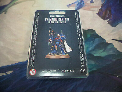 Primaris Captain in Phobos Armour Space Marines Warhammer 40k 40,000 Games New!