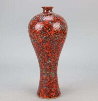 china old beautys flush glaze fambe hand-made vase b01