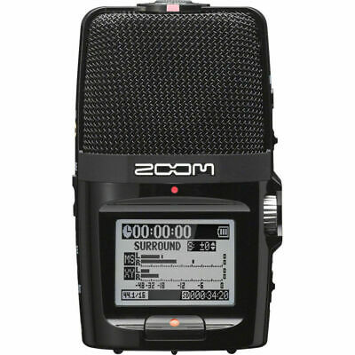 Zoom H2n Handy Recorder Handheld SD Recorder with Five Internal Mic Capsules