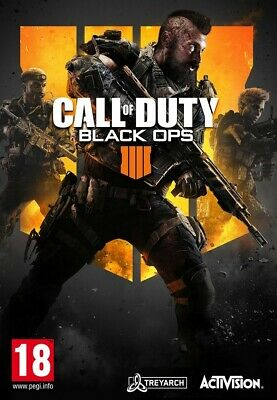 Ps4 Call Of Duty Black Ops 4 Used Excellent Condition