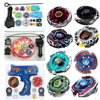 4D Beyblade Spinning Top Fusion Metal Master Rapidity Fight Launcher Toy Gift