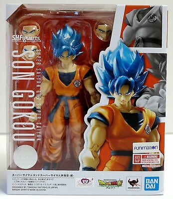 S.H. Figuarts Dragon Ball Super Broly Super Saiyan God Goku Action Figure